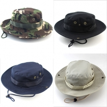 Fashion Outdoor Travelling Hiking Fishing Military Boonie Hat