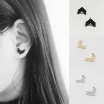 Simple Stylish Airplane Shaped Stud Earring