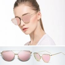 Gafas de sol al estilo Retro, anti-UV y marco completo