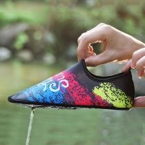 Zapatillas Deporativas Estampado Colorido Antideslizante Secado Rápido