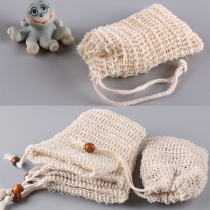 Hot Sale Soap Foaming Bag with Drawstring  3 piece/set