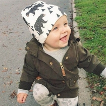 Cute Cartoon Printed Baby Beanies