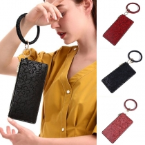Creative Style Bracelet Key Chain with Wallet