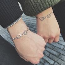Creative Style Handcuffs Couple Bracelet
