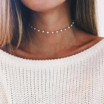 Collar de Perlas Sintéticas