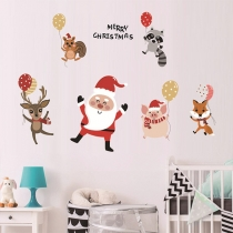 Cute Style Christmas Wall Sticker