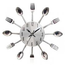 Reloj de Pared con Cuchillo y Tenedor de Estilo Creativo