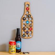 Soporte de Tapa de Cerveza con Forma de Botella de Cerveza de Estilo Creativo