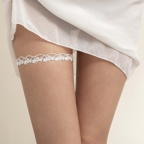 Sexy Hollow Out Lace Leg Chain  2 Piece/Set