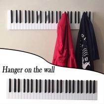Creative Style Piano Wooden Coat Racks Wall-mounted Hanger