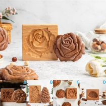 Creative Style Wooden Baking Mold Cookie Mold Cutter