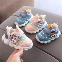 Cute Cartoon Animal Pattern Anti-slip Baby Toddler Sneakers