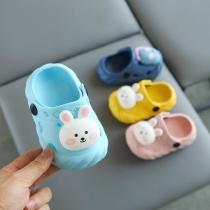 Sandalias de dibujos animados lindos deslizadores zapatos interiores zapatos de niños