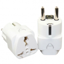 Adaptador Universal Plug Grounded for Europe, Alemania, Francia
