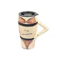 Café Leopard Sexy o taza de té de cerámica