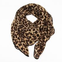 Infinito bufanda del leopardo de la manera de la bufanda