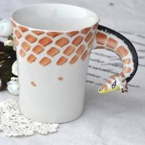 Taza de Café de Jirafa Hecha a Mano